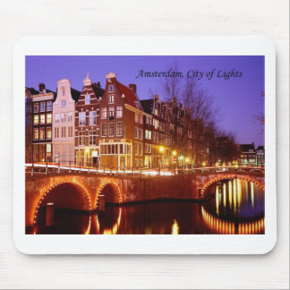 Amsterdam, ciudad de luces (por St.K.) Tapete De Ratones