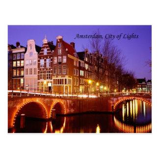 Amsterdam, ciudad de luces (por St.K.) Tarjetas Postales