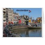 Amsterdam - ciudad [kan.k]. felicitación