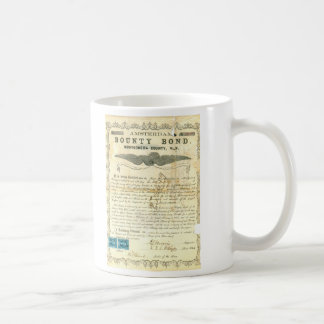 Amsterdam Civil War Slavery Bounty Bond Coffee Mug