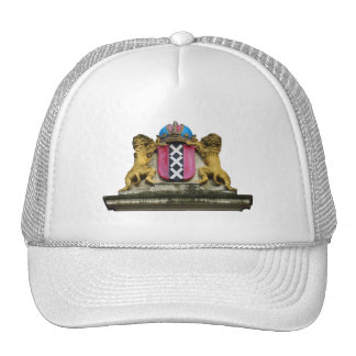 Amsterdam Coat of Arms Cap Trucker Hat