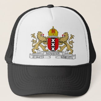 Amsterdam Coat of Arms Trucker Hat