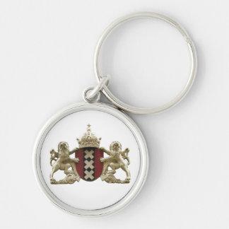 Amsterdam Coat of Arms XXX Keychain