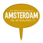 AMSTERDAM custom color cake topper