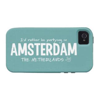 AMSTERDAM custom color iPhone case-mate iPhone 4 Cases
