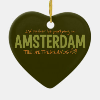 AMSTERDAM custom color ornament