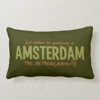 AMSTERDAM custom color throw pillow