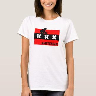 Amsterdam Cycling Female T-Shirt
