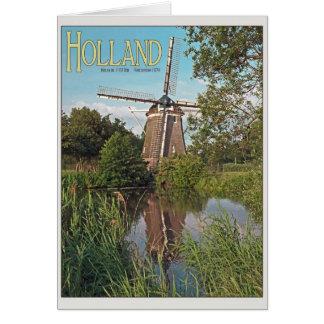 Amsterdam - De 1100 Roe Windmill Cards
