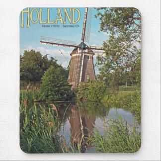 Amsterdam - De 1100 Roe Windmill Mouse Pad