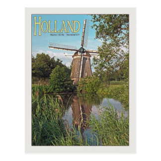 Amsterdam - De 1100 Roe Windmill Postcards