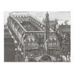 Amsterdam del siglo XIX, la bolsa vieja Postales