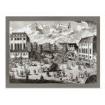 Amsterdam del siglo XIX, sinagoga portuguesa Tarjeta Postal