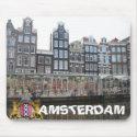Amsterdam Flower Market Bloemenmarkt Mousepad mousepad
