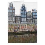 Amsterdam Flower Market (Bloemenmarkt) Photo Card