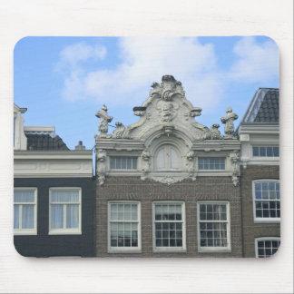 Amsterdam Gable Houses and Sky Mousepad
