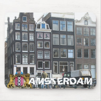 Amsterdam Gable Houses Photo Mousepad