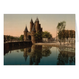 Amsterdam Gate, Haarlem, Netherlands Card