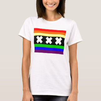 Amsterdam Gay Pride Flag T-Shirt