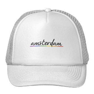 AMSTERDAM GAY PRIDE -.png Trucker Hats