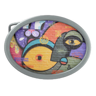 Amsterdam Graffiti Belt Buckle