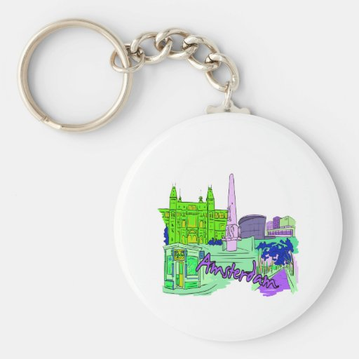 amsterdam green 2 city image.png keychain