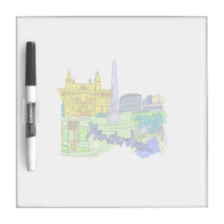 amsterdam green city image.png Dry-Erase board