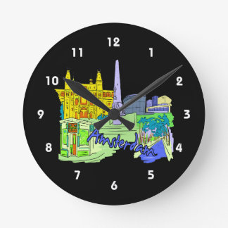 amsterdam green city image.png round clock