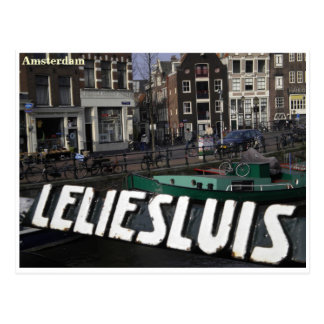 Amsterdam greetingcard postcard
