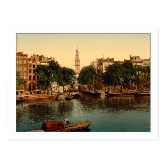 Amsterdam Groenburgwal Postcard
