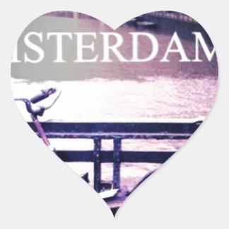 Amsterdam Heart Sticker