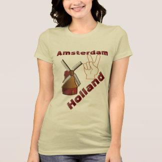 Amsterdam Holanda - camiseta Camisas