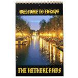 AMSTERDAM, HOLANDA (Mojisola una foto de Gbadamosi Calendario De Pared