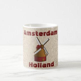 Amsterdam Holanda - taza de café del recuerdo