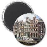 Amsterdam, Holland 2 Inch Round Magnet
