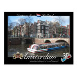 Amsterdam Holland 3D Anaglyph Postcard