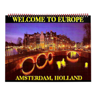 AMSTERDAM, HOLLAND Mojisola A Gbadamosi Okubule Calendar