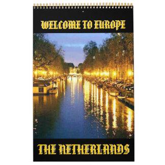 AMSTERDAM, HOLLAND(Mojisola A Gbadamosi Photo) Calendar
