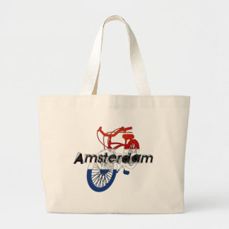 Amsterdam Holland Netherlands Cycling Tote Bags