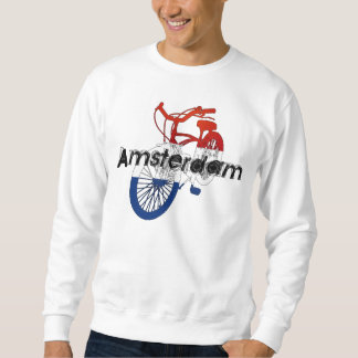 Amsterdam Holland Netherlands Cycling Bicycle Ride Sweatshirt
