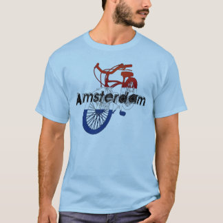 Amsterdam Holland Netherlands Cycling T-Shirt