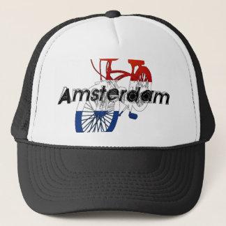 Amsterdam Holland Netherlands Cycling Trucker Hat
