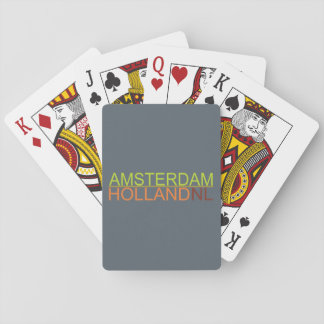 Amsterdam,Holland,NL Playing Cards