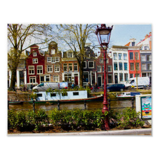 Amsterdam House Poster