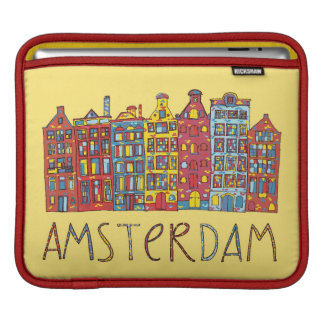 Amsterdam In Mosaic Sleeve For iPads