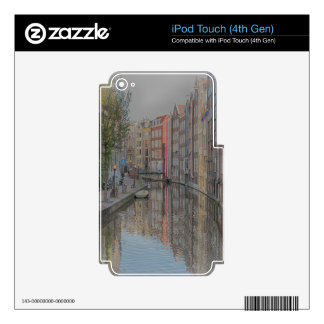 Amsterdam iPod Touch 4G Decal