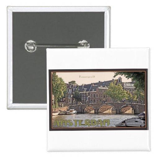 Amsterdam - Keizersgracht Pin