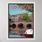 Amsterdam - Keizersgracht-RGrachtCentrum Poster