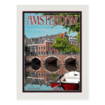 Amsterdam - Keizersgracht-RGrachtCentrum Tarjeta Postal