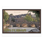 Amsterdam - Keizersgracht Tarjeta Postal